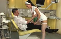 Sexy nurse got fucked in the ordination